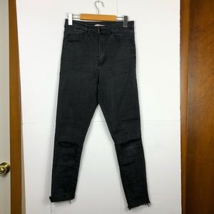 Forever 21 High Waisted Skinny Jeans Sz 27